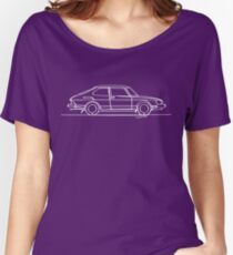 SAAB 900 - Single Line Women's Relaxed Fit T-Shirt