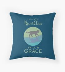 RiverClan Pride Throw Pillow