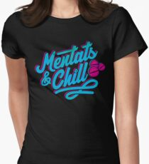 Mentats & Chill Women's Fitted T-Shirt