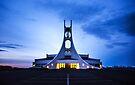 Stykkisholmur Church by Svetlana Sewell