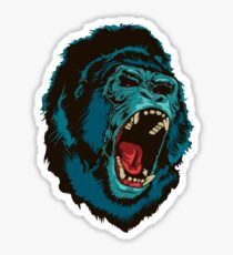Gorilla Kong Sticker