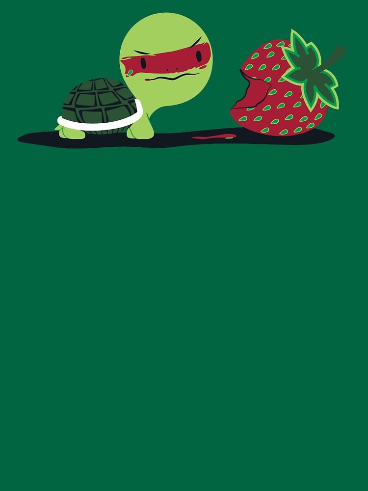 Strawberry Turtle by adru