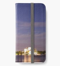 Canberra by night iPhone Wallet/Case/Skin