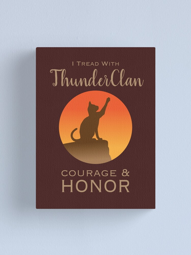 Alternate view of ThunderClan Pride Canvas Print