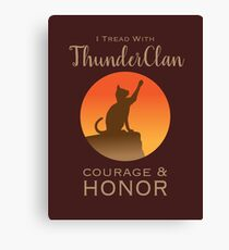 ThunderClan Pride Canvas Print