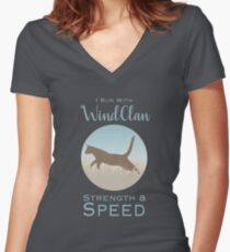 WindClan Pride Women's Fitted V-Neck T-Shirt