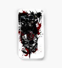 Trash polka raven and skull  Samsung Galaxy Case/Skin