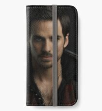 Colin O'Donoghue as Captain Hook iPhone Wallet/Case/Skin