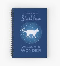 Cuaderno de espiral Sueños de StarClan