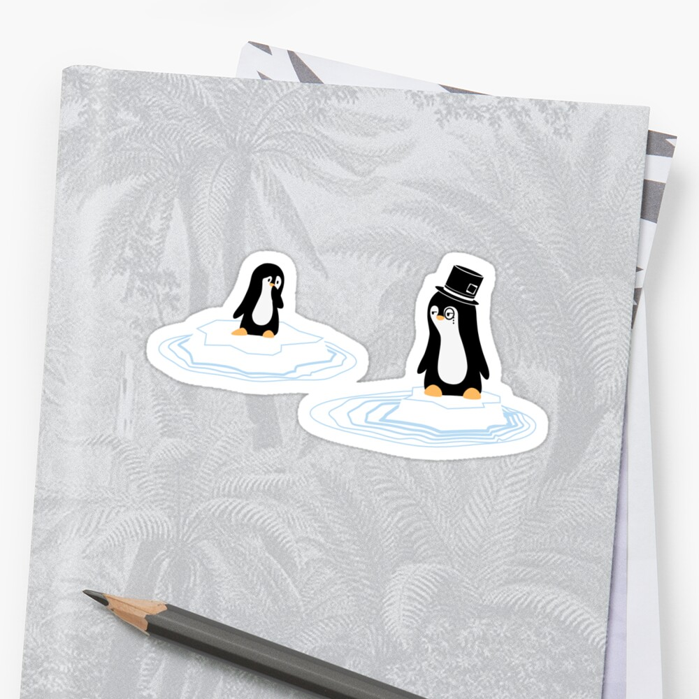 Penguins on Ice by adru