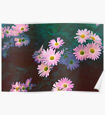 Vivacious Flowers Poster