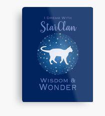 StarClan Dreams Metal Print