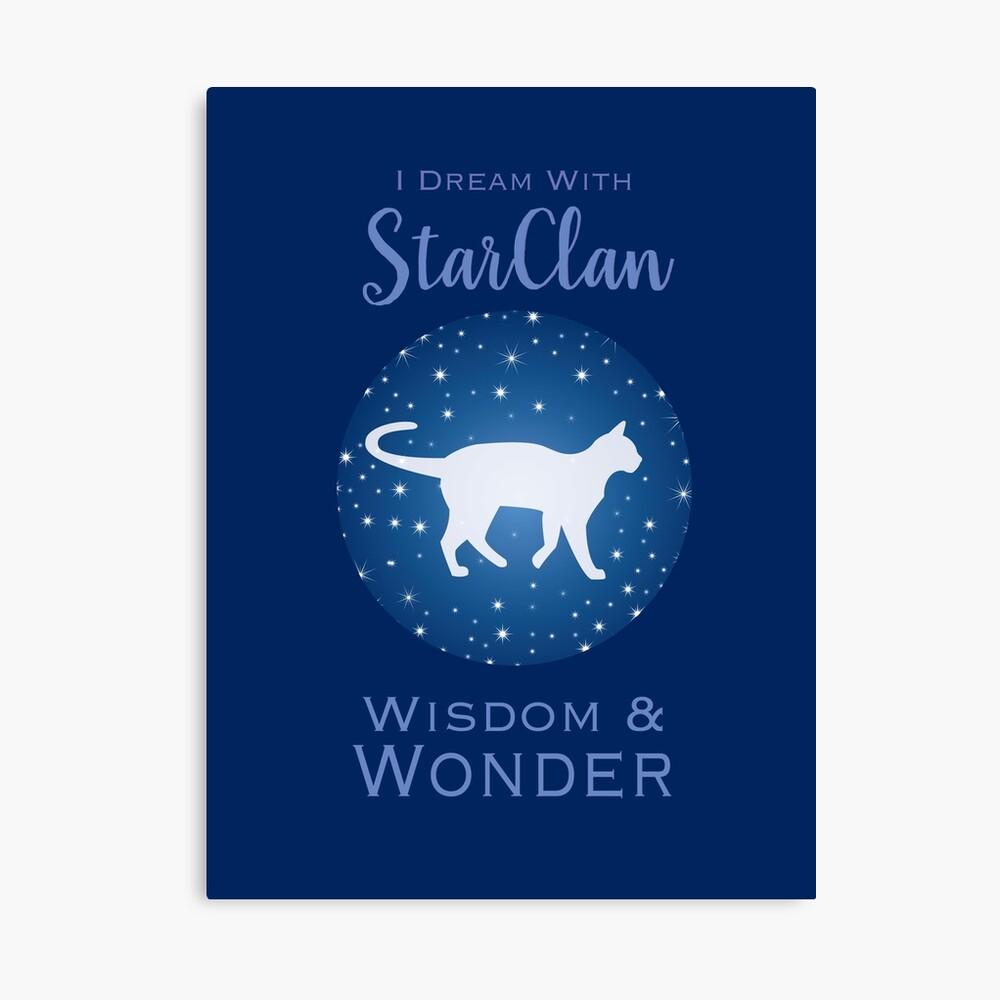 StarClan Dreams Canvas Print