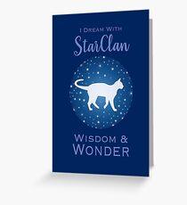 StarClan Dreams Greeting Card