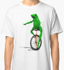 DAT BOI FROG MEME INTERNET PEPE RARE Classic T-Shirt