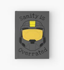 Sanity is Overrated Hardcover Journal