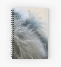 Feather touch .... Spiral Notebook
