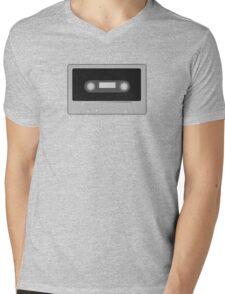 Cassette Tape Mens V-Neck T-Shirt