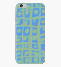Modern Blue and Green Square Print iPhone 6 Case iPhone Case