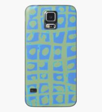 Modern Blue and Green Square Print iPhone 6 Case Case/Skin for Samsung Galaxy