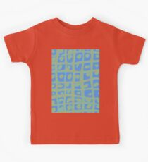 Modern Blue and Green Square Print iPhone 6 Case Kids Clothes