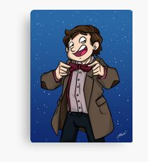 Doctor Who - Eleventh Doctor Canvas Print