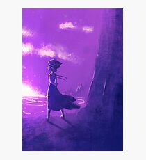 Steven Universe: By the Sea Photographic Print