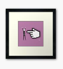 Cyber Thief Framed Print
