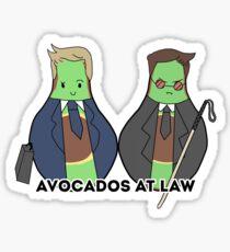 Avocados at Law! Sticker