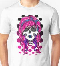'Rockabilly Skull' Unisex T-Shirt
