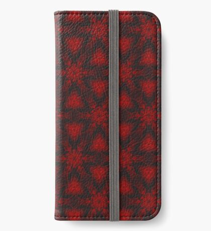 Electric Snowflake iPhone Wallet