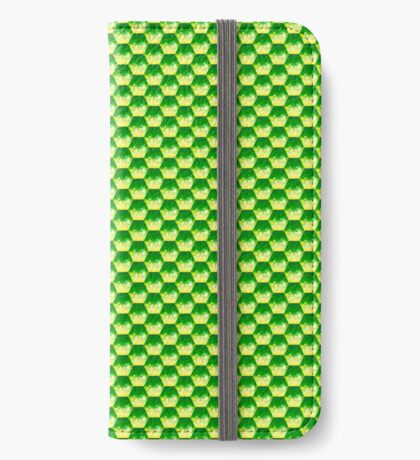 Green Glass Scales iPhone Wallet