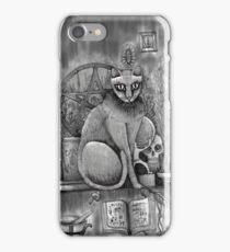 witch cat iPhone Case/Skin