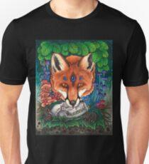 Undergrowth - Red Fox Unisex T-Shirt