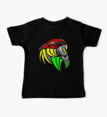 Reggae Music Cool Lion Reggae Colors T Shirts and Stickers Baby Tee