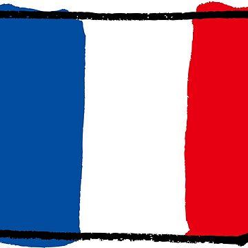 France flag by ririe