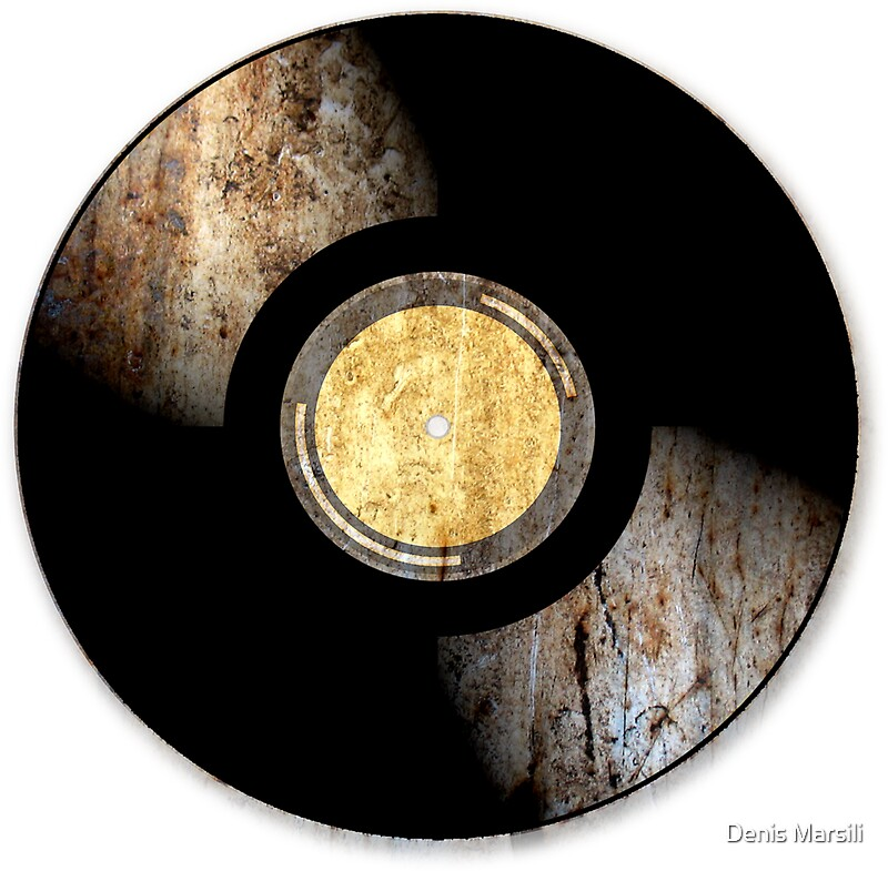 Vintage vinyl record rust texture retro music dj for What to do with old vinyl records