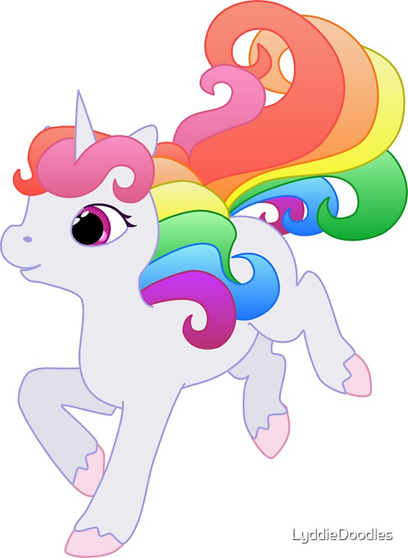 Cute Cartoon Baby Unicorn | www.pixshark.com - Images ...