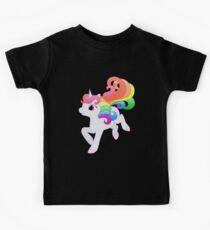 Cute Baby Rainbow Unicorn Kids Tee