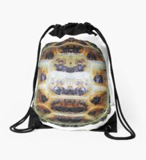 Tortoise Shell - Carapace Drawstring Bag