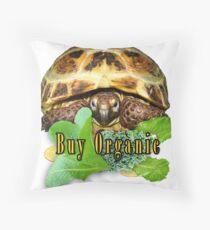 Tortoise - Buy Organic Throw Pillow
