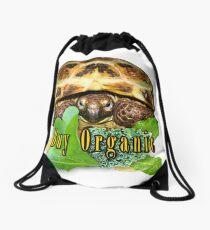 Tortoise - Buy Organic Drawstring Bag