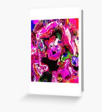Colour Untamed Greeting Card