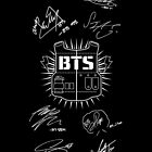 BTS Army + Signatures Black by ksection