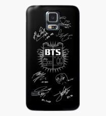 BTS Army + Signatures Black Case/Skin for Samsung Galaxy