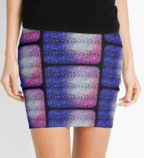 Colorful Scales Mini Skirt