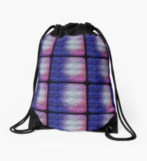 Colorful Scales Drawstring Bag