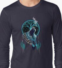 Wolf Indian Shaman Long Sleeve T-Shirt
