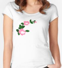 Marinette's flowers Women's Fitted Scoop T-Shirt