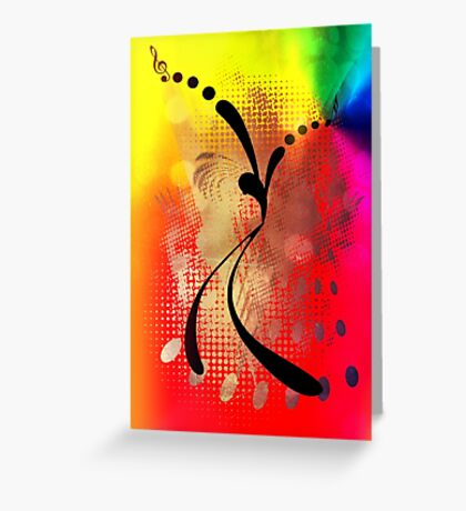 Just DANCE! Greeting Card